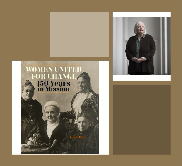 Picture of Dr. Blue and her book Women United for Change